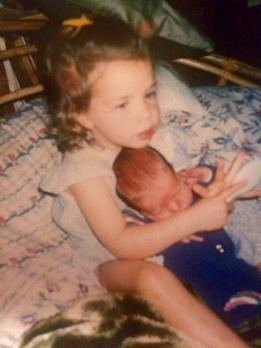 Harn & baby Joel