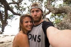 NZ Beach selfie