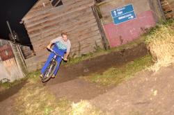 Joel sending the Pump track