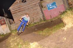 Joel sending the Pump track